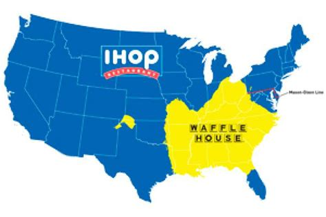 old south pancake house do you live in ihop america or waffle house america map fastfoodinusa com