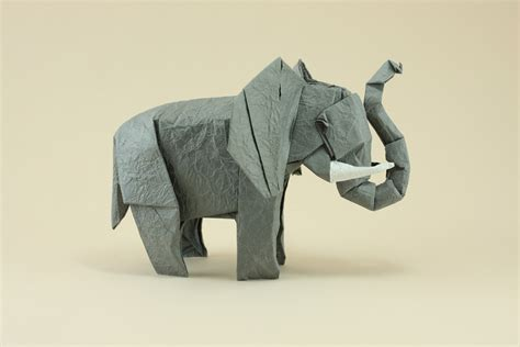 Origami Elephant - origami origami elephants to fold for the