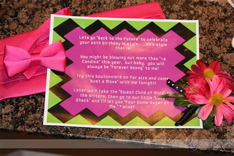 cute prom invitation ideas totally awesome 80 s prom