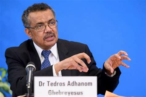 tedros adhanom ghebreyesus oms le nouveau patron tedros adhanom ghebreyesus