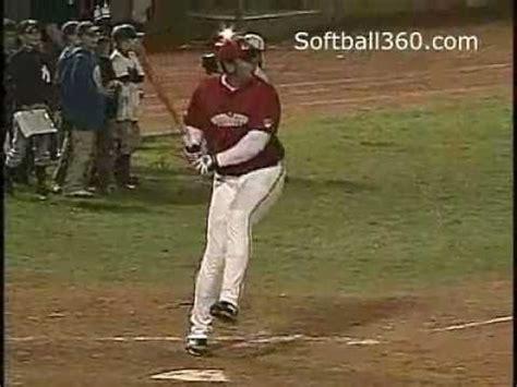slow pitch softball homerun swing slowpitch swing mechanics overlap grips doovi