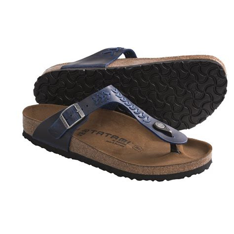 tatami sandals tatami by birkenstock gizeh woven sandals leather for