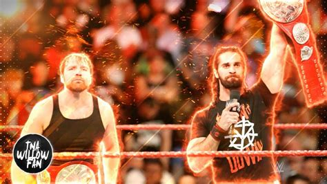 wwe themes mix wwe dean ambrose seth rollins theme song quot the second