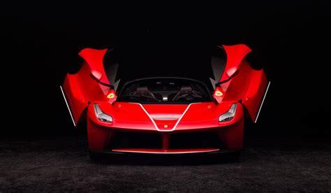Interior Home Paint by Ferrari Laferrari Aperta Rosso Corsa Scale Model Cars