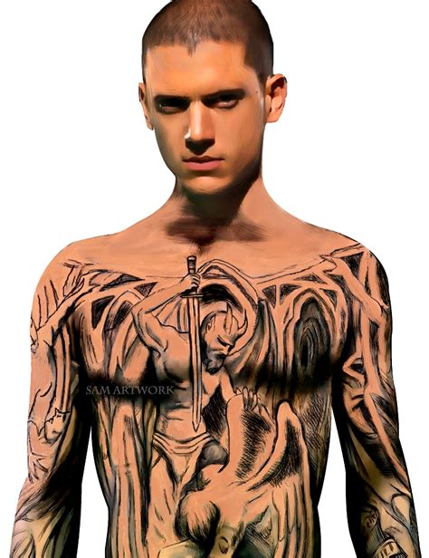 mike miller tattoos how to get prison sketch yahoo answers