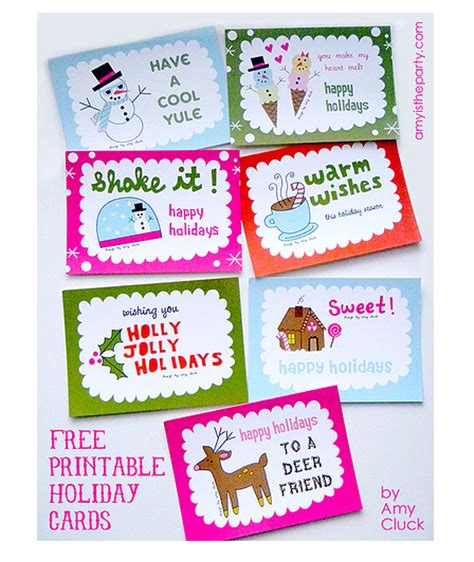 printable christmas cards for students printable holiday cards printables 4 mom