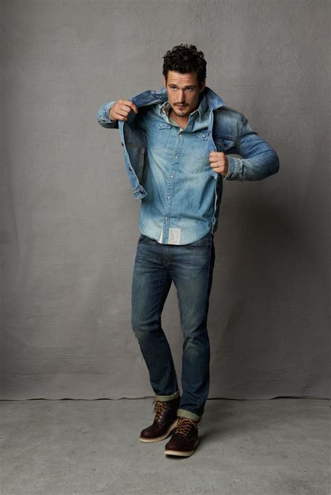 s blue denim jacket light blue denim shirt navy