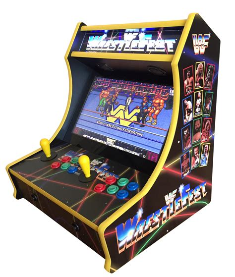 bar top video game wwf wrestlefest bartop arcade 705 games