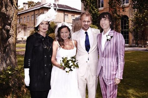 20 celebrities who were teen parents lifedaily mick jagger gathers his exes around him for wedding of