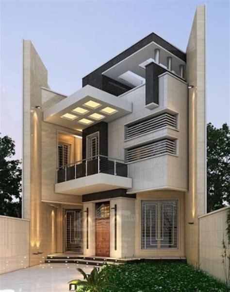 modern house front facade design exterior wall
