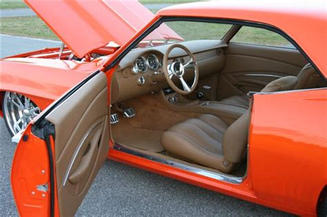 Interior Upholstery For Cars by Whidby S 1969 Camaro Custom Leather Interior