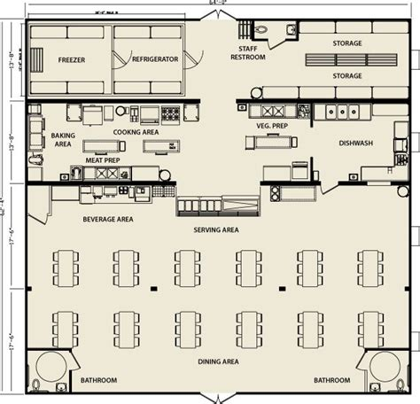 floor plan of cafeteria modular building cafeteria facilities floorplan