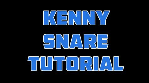 tutorial beatbox snare k how to beatbox kenny muhammed snare multi snare