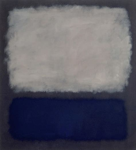 blue and grey blue and grey 1962 by mark rothko