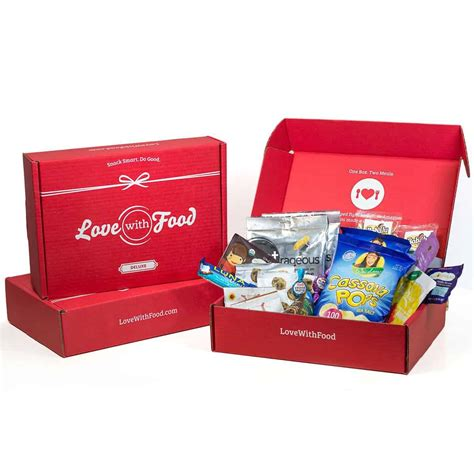 deluxe box with food deluxe box find subscription boxes