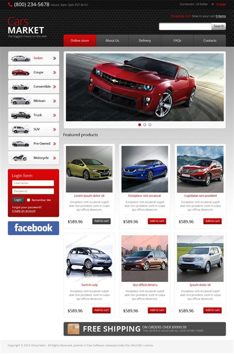 virtuemart template free free virtuemart 2 0 22 template