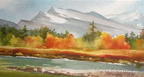 painting montana fall afternoon the paintings of sallie bowen