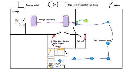 Need Help With Basement Wiring Issue Wiring Diagram In