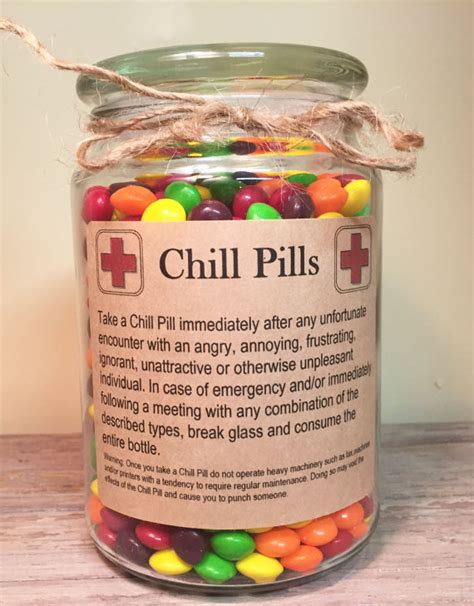 chill pill apothecary jar for professionals 24 oz