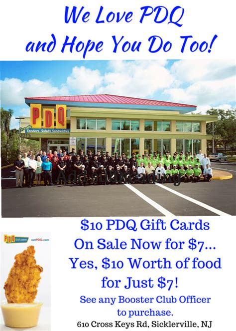 Pdq Gift Card - get 10 pdq cards for 7 at acg