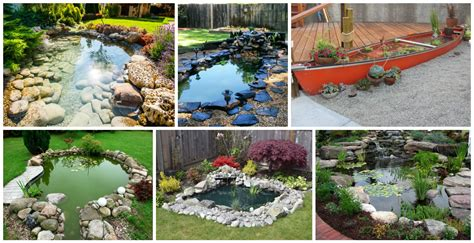 13 Diy Awesome Natural Backyard Pond Ideas For All Budgets Diy Backyard Pond Ideas