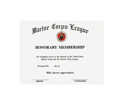 honorary member certificate template honorary member certificate