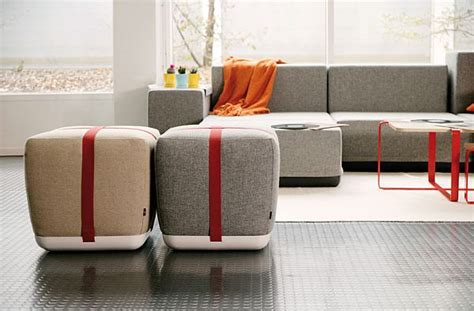 bedroom pouffe comfy modern and simple sake pouf