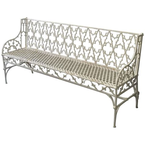 iron garden benches american fern and blackberry cast iron garden bench item
