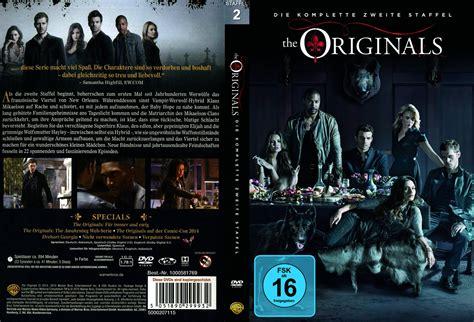 2 Original Dvd The Originals Staffel 2 Dvd Cover Labels 2015 R2