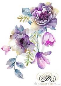 best 25 flower watercolor ideas on pinterest watercolor