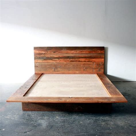 Barn Wood Bed Frames Reclaimed Wood Platform Bed Barn Wood Bed Frame By Wearemfeo Home Ideas Pinterest Wood