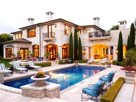 mediterranean house plans with swimming pool elegant mediterranean home and swimming pool
