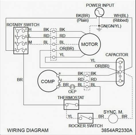 wiring diagram for ac condenser yondo tech alternating