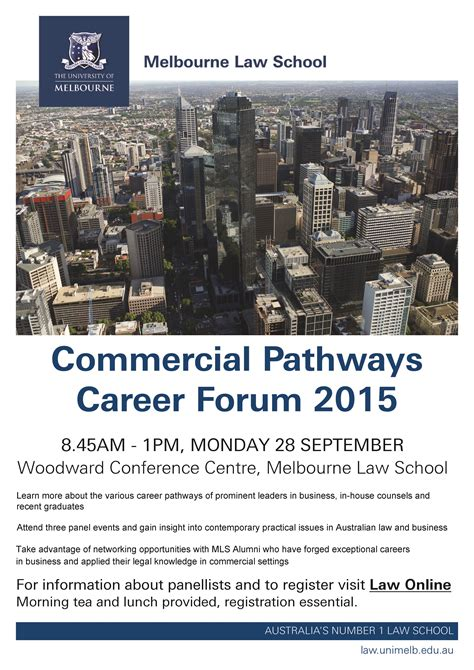 commercial pathways career forum monday 28