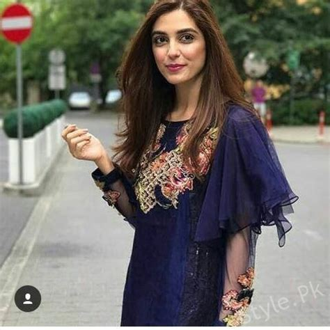 Maya Ali Celebrated Eid in Poland   Style.Pk