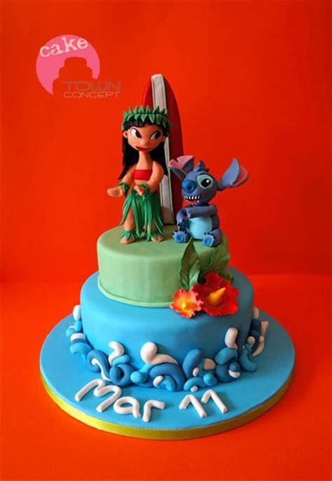 images  lilo stitch cakes  pinterest stitch cake disney characters  stitches