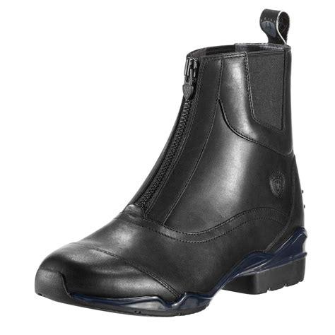 ariat boots ariat volant womens show zip paddock boot black