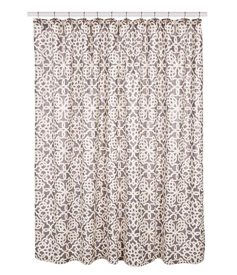 southern living curtains southern living tile cotton shower curtain dillards