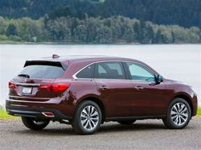 Acura Mdx Per Gallon 10 Best Midsize Suvs Autobytel