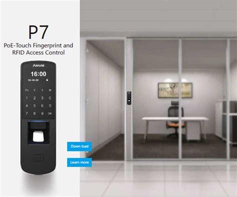 Anviz P7 Fingerprint anviz p7 fingerprint access controller veela nz