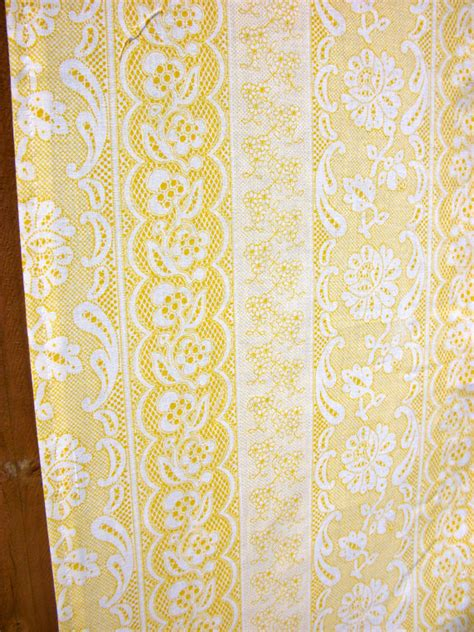 yellow lace curtains shower curtain handmade yellow lace eyelet free shipping