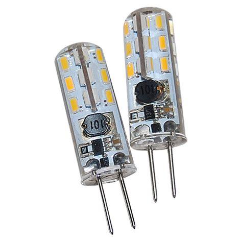 led leuchtmittel g4 voltolux led leuchtmittel 2 w g4 warmwei 223 2 stk