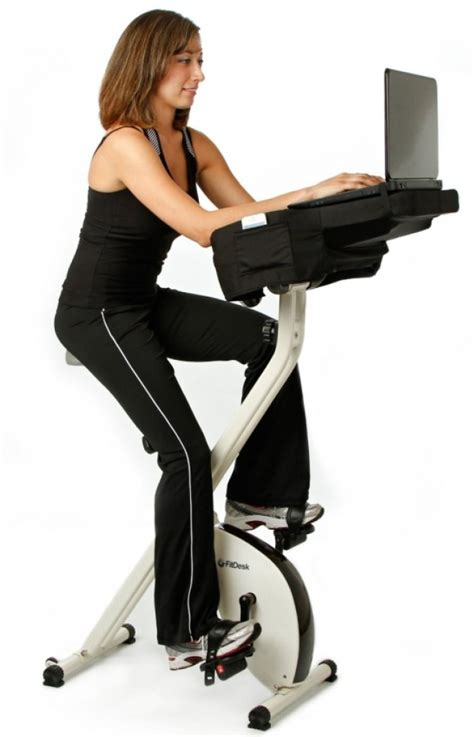 exercise bike computer desk semi recumbent pedal desk gadgets matrix