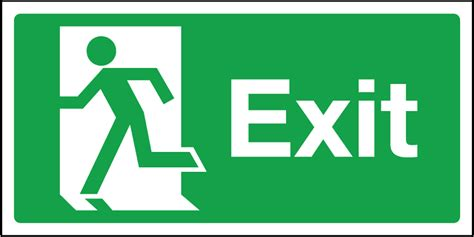 the exit light company exit signs cliparts co