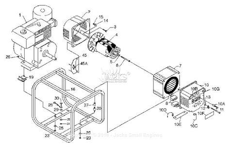 coleman powermate 5000 parts diagram powermate formerly coleman pm0524000 parts diagram for