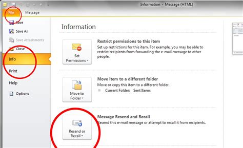 Office 365 Outlook Recall Message Office 365 Outlook Resend 28 Images Recall A Sent