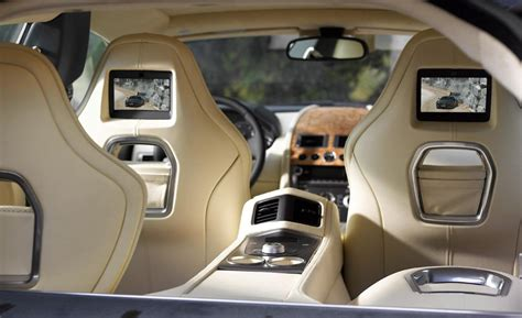 aston martin truck interior car and driver