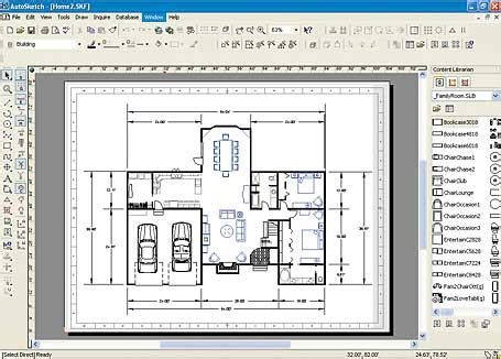 Create A Floor Plan App autosketch makes 2d drawings easier pcworld