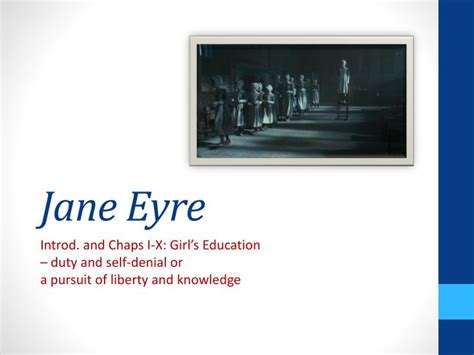 themes in jane eyre ppt ppt jane eyre powerpoint presentation id 1123957