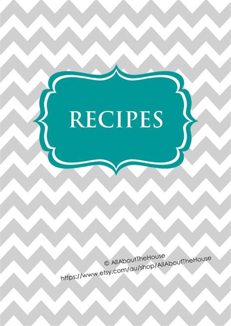 recipe binder templates editable recipe binder printables recipe sheet recipe card